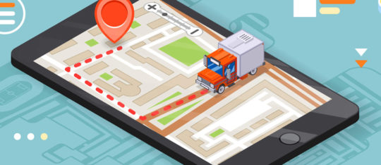 Géolocalisation des camions