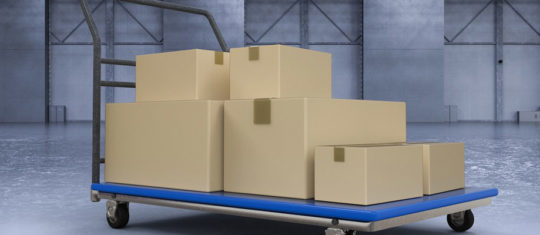 roll chariot logistique